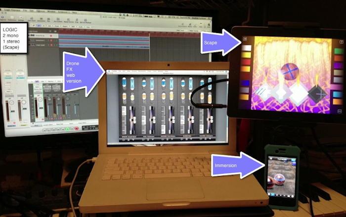 iPAd Studio Set Up
